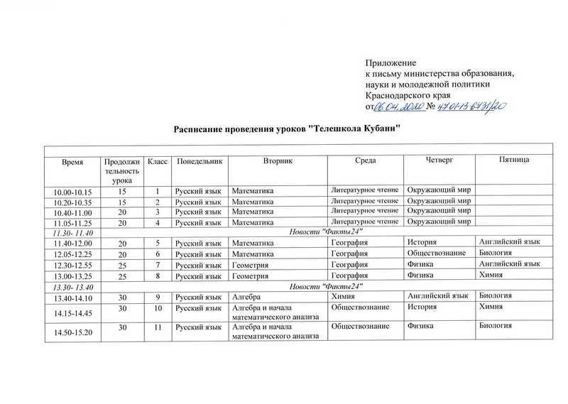 Письмо - расписание Телешкола Кубани_page-0002